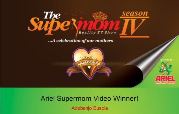 Ariel The SuperMom Heart of Gold Competition - BellaNaija - October 2013