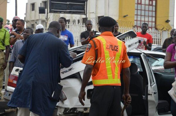 BN Exclusive -Truck collapses in Maryland, Lagos - October 2013 - BellaNaija013