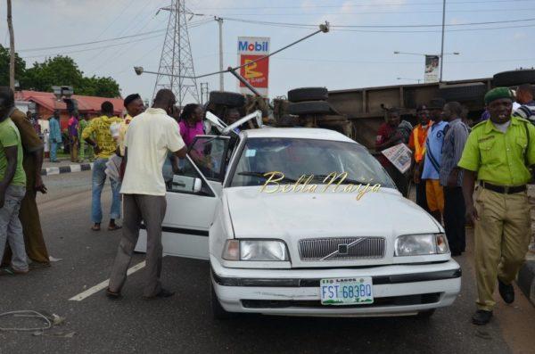 BN Exclusive -Truck collapses in Maryland, Lagos - October 2013 - BellaNaija016