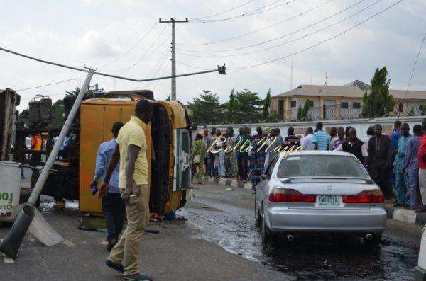BN Exclusive -Truck collapses in Maryland, Lagos - October 2013 - BellaNaija030
