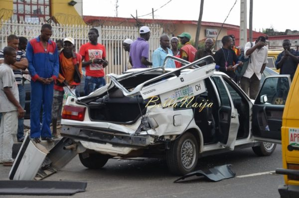 BN Exclusive -Truck collapses in Maryland, Lagos - October 2013 - BellaNaija039