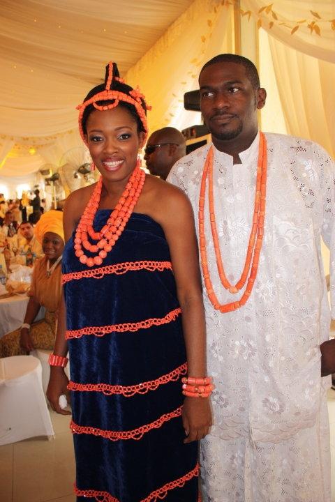 Bridal Beauty Edo Brides In Beautiful Beaded Benin