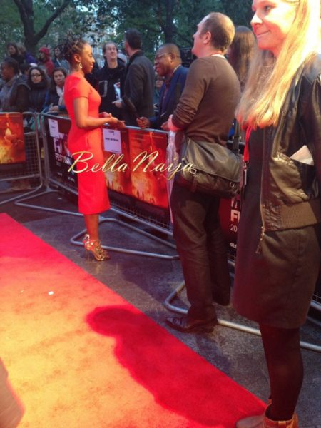 Chimamanda Ngozi Adichie at theLondon Premiere of Half of a Yellow Sun  - October 2013 - BellaNaija Exclusive002