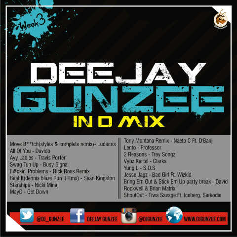 DJ Gunzee In The Mix - October 2013 - BellaNaija (1)