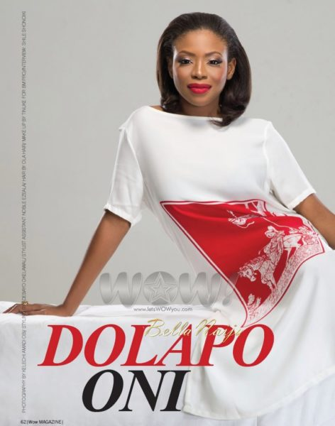Dolapo Oni on the cover of WOW! Magazine - October 2013 - BellaNaija004