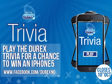 Durex Trivia - BellaNaija - October 2013