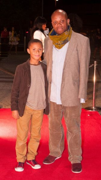 Music Promoter Atta Kouassi with son