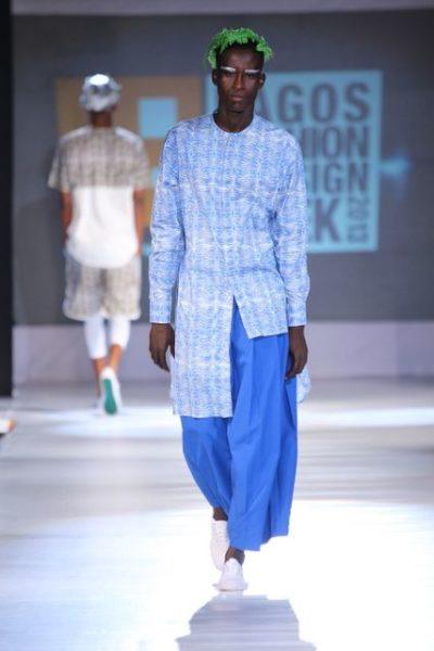 GTBank Lagos Fashion & Design Week 2013 Beatrice Orange Culture - BellaNaija - October2013006