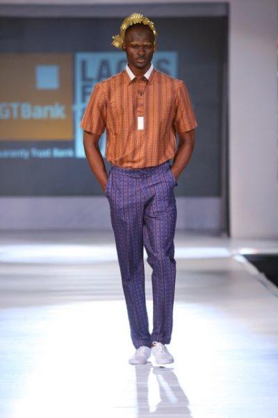 GTBank Lagos Fashion & Design Week 2013 Beatrice Orange Culture - BellaNaija - October2013010