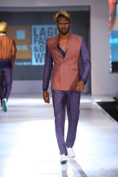 GTBank Lagos Fashion & Design Week 2013 Beatrice Orange Culture - BellaNaija - October2013011