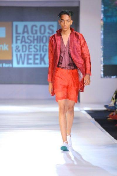 GTBank Lagos Fashion & Design Week 2013 Beatrice Orange Culture - BellaNaija - October2013014
