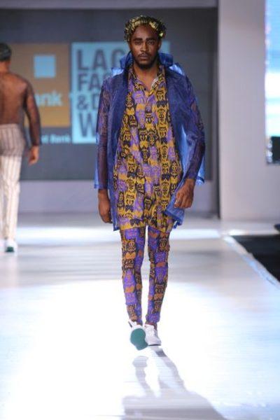 GTBank Lagos Fashion & Design Week 2013 Beatrice Orange Culture - BellaNaija - October2013016