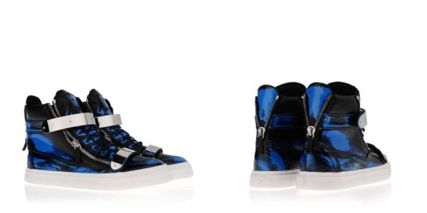 Giuseppe Zanotti Sneakers - October 2013 - BellaNaija