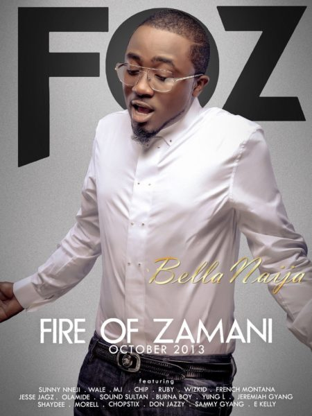 Ice Prince Zamani - Fire Of Zamani - October 2013 2