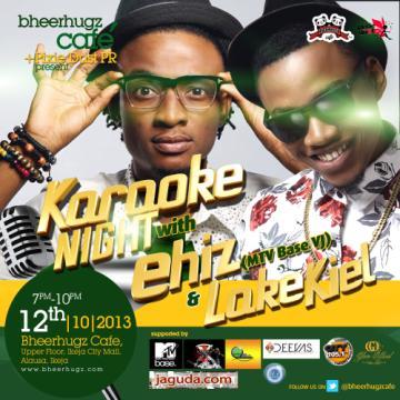 Karaoke Night with Ehiz & LokeKiel