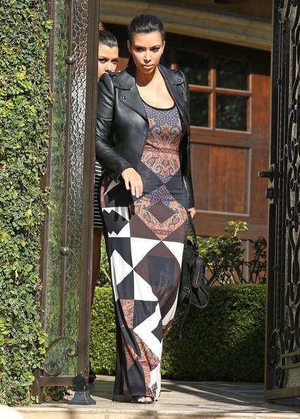 Kim Kardashian in Givenchy - Lily Aldridge - October 2013 - BellaNaija