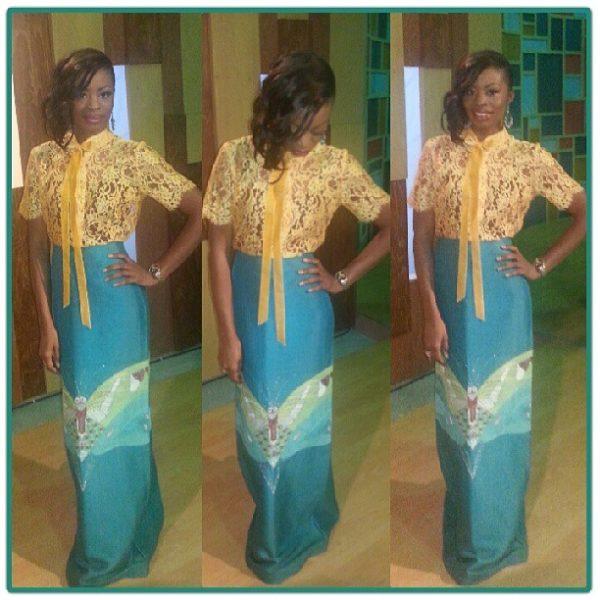 EbonyLife TV presenter, Lamide Akintobi - Now
