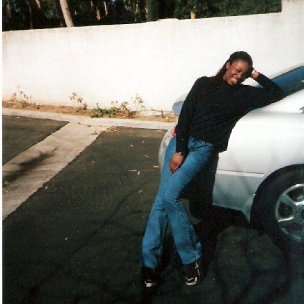 EbonyLife TV presenter, Lamide Akintobi - Then