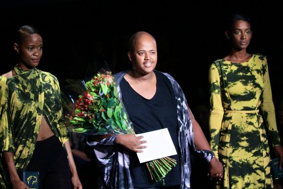 Laz Yani for Cutterier AutumnWinter 2014 South Africa Fashion Week 2013 - BellaNaija - October 2013001