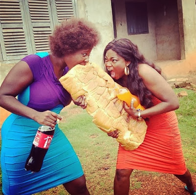 Mercy Johnson Funke Akindele - October 2013 - BellaNaija (1)