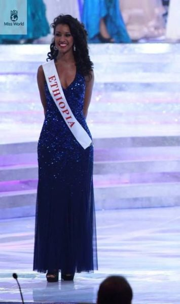 Miss Ethiopia Genet Tsegay Tesfay