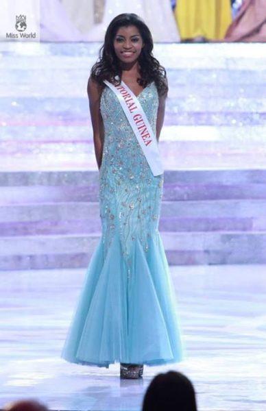 Miss Equatorial Guinea Restituta Mifumu Nguema