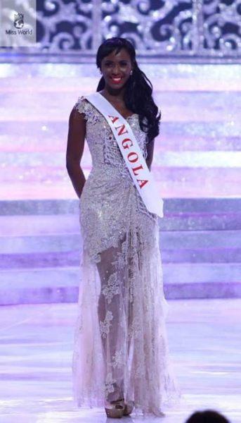 Miss Angola Maria Castelo