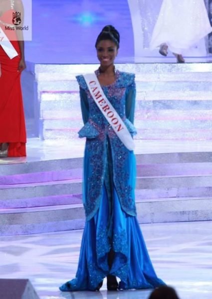 Miss Cameroon Denise Valérie Ayena