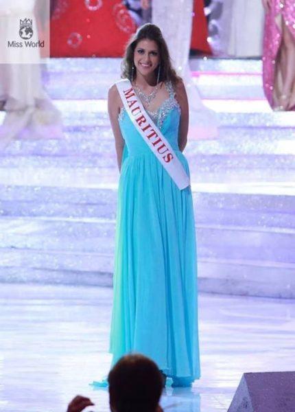 Miss Mauritius Nathalie Lesage