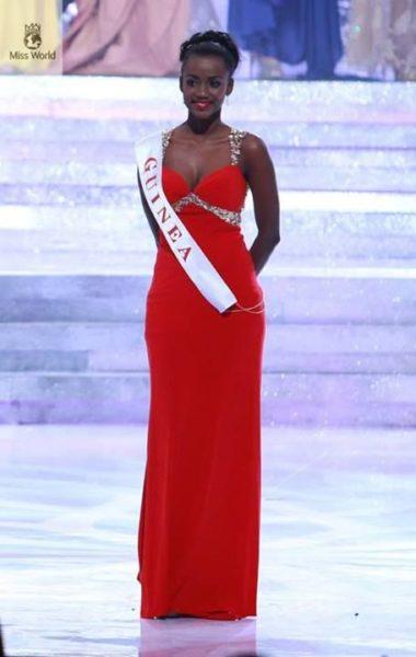 Miss Guinea Mariama Diallo