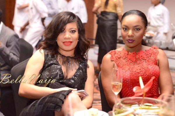 Monalisa Chinda & Chioma Chukwuka-Akpotha at InterContinental Hotel Launch - October 2013 - BellaNaija - 022