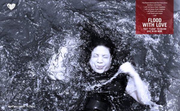 Monalisa Chinda stars in the Flood with Love Campaign - October 2013 - BellaNaija - 021