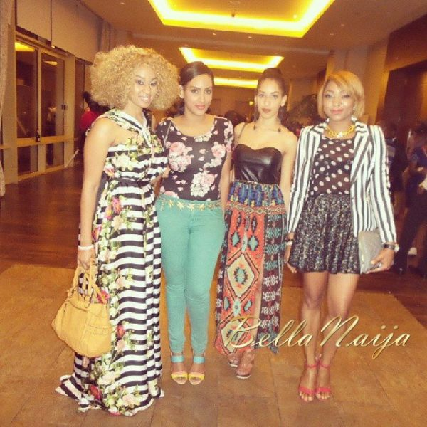 Munachi Abii, Juliet Ibrahim & Sharon Ojong