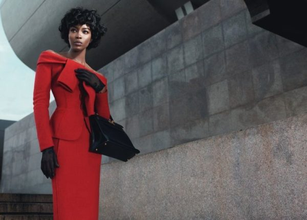 Naomi Campbell for W Magazine Editorial The First Lady of Fashion - BellaNaija - October2013001