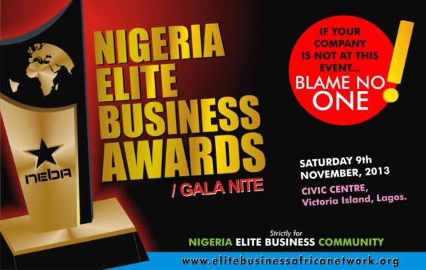 Nigeria Elite Business Awards - BellaNaija - October 2013