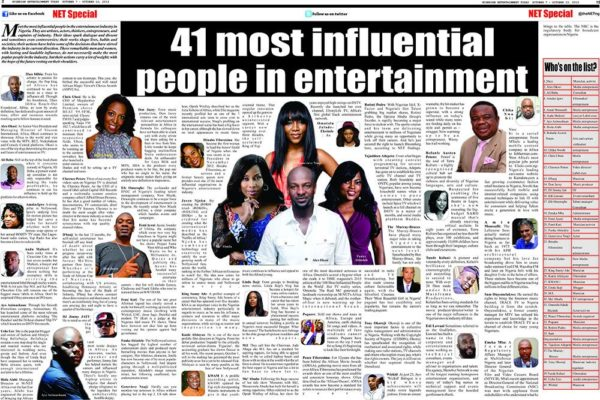 Nigeria Entertainment Today 2013 Most Influential List - October 2013 - BellaNaija - 021