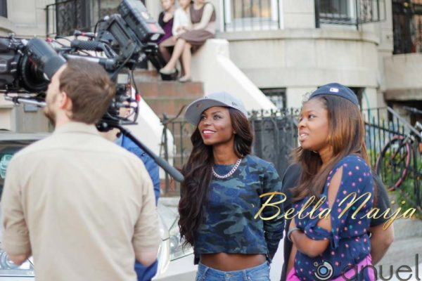 Niyola Toh Bad - Video Shoot (New York) - October 2013 - BellaNaija (10)
