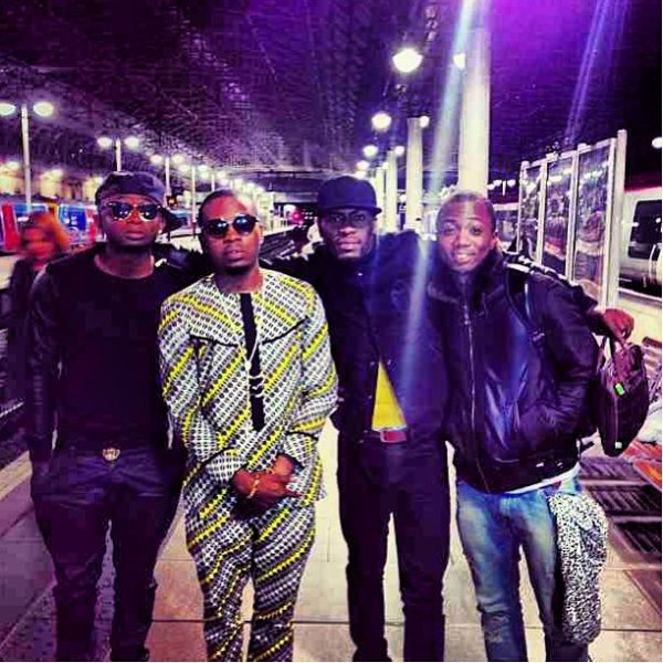 Olamide Sean Tizzle D-Tunes Flavour London - October 2013 - BellaNaija (1)