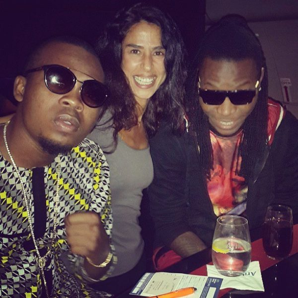 Olamide Sean Tizzle D-Tunes Flavour London - October 2013 - BellaNaija (2)