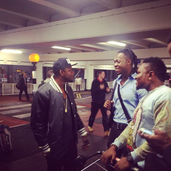 Olamide Sean Tizzle D-Tunes Flavour London - October 2013 - BellaNaija (3)
