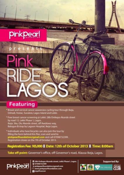 Pink Pearl Pink Ride Lagos - BellaNaija - Ovctober 2013