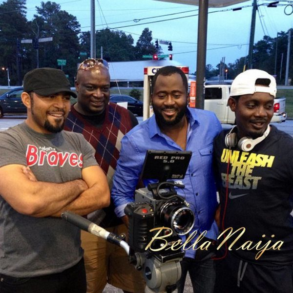 Ramsey-Noauh-Desmond-Elliot-and-AY 30-Days-in-Atlanta - October 2013 - BellaNaija