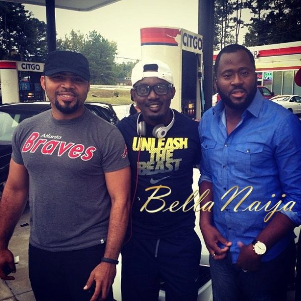 Ramsey Nouah AY Makun Desmond Elliot - OCtober 2013 - BellaNaija