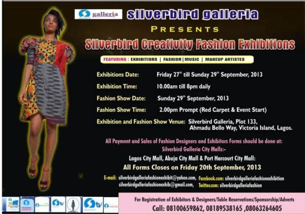 Silverbird Creativity Fashion Exhibitions