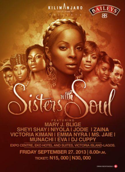 Sisters with Soul - September 2013 - BellaNaija