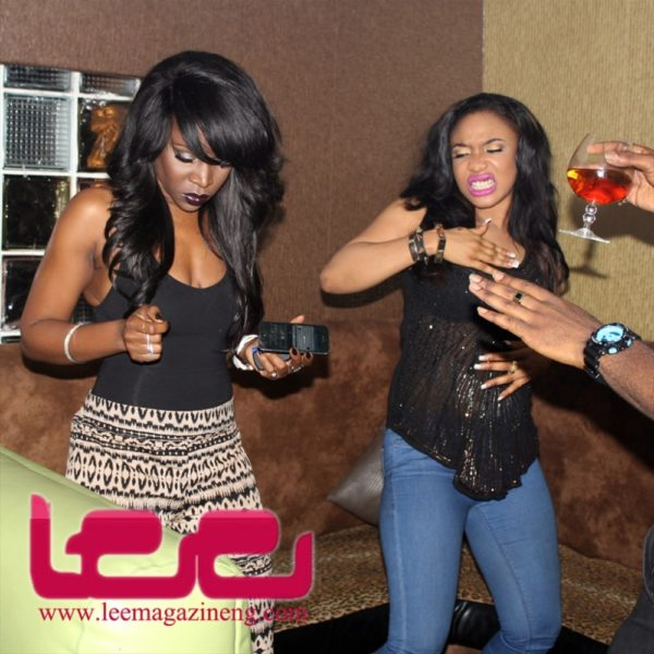 Stars at the Lee's Celebrity Monthly Birthday Party in Lagos - October 2013 - BellaNaija018