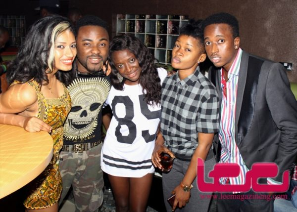 Stars at the Lee's Celebrity Monthly Birthday Party in Lagos - October 2013 - BellaNaija020
