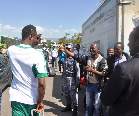 Super Eagles arrive in Ethiopia for 2014 World Cup Qualifier- October 2013 - BellaNaija - 022