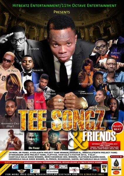 Tee Songz & Friends - October 2013 - BellaNaija