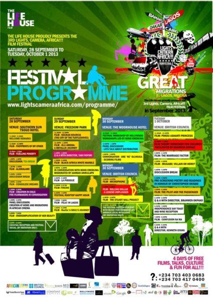 The Life House Festival Programme - September 2013 - BellaNaija